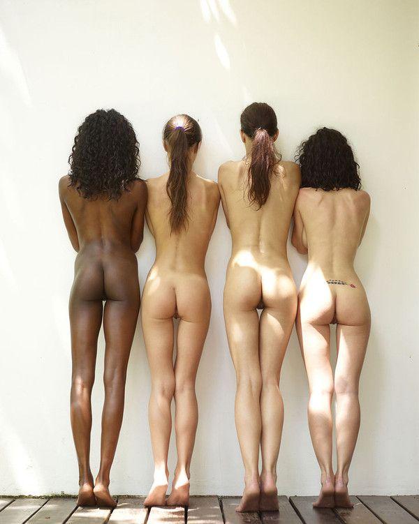 4 jolies paires de fesses