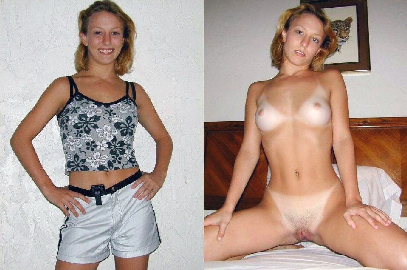 Dressed pussy granny undressed shaved